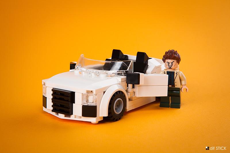 Audi R8 Spyder Iron Man 2 Audi R8 Spyder Lego Moc