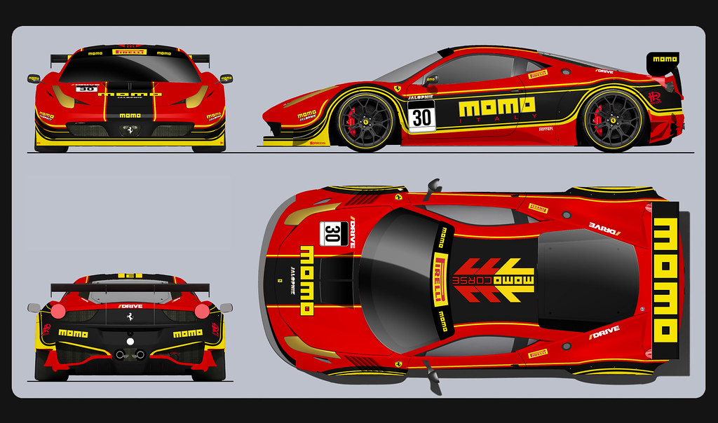 Ferrari 458 Momo Racing Entry 1 This Was One Of My