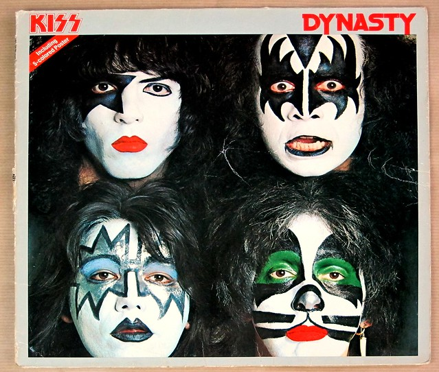 "KISS DYNASTY 12"" LP VINYL"