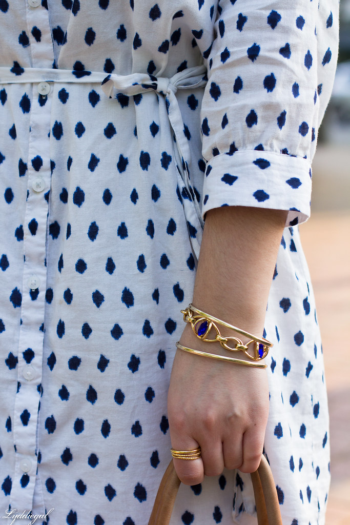 polka dot dress, straw fedora, blue sandals-6.jpg