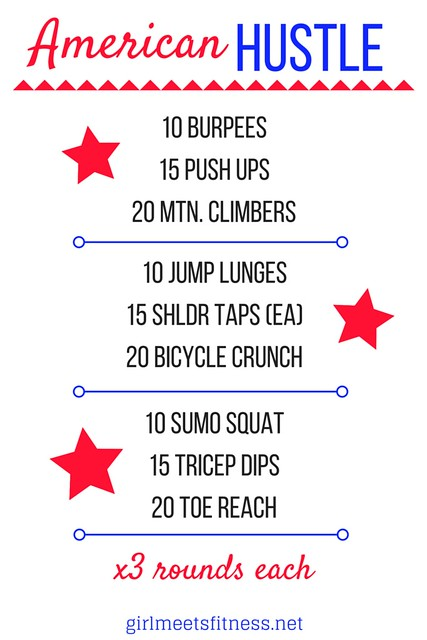 American Hustle Workout - Holiday Workout with GirlMeetsFitness.net