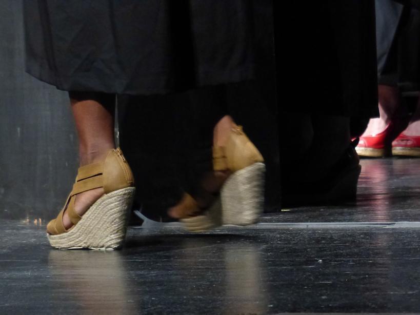 White Graduation Shoes