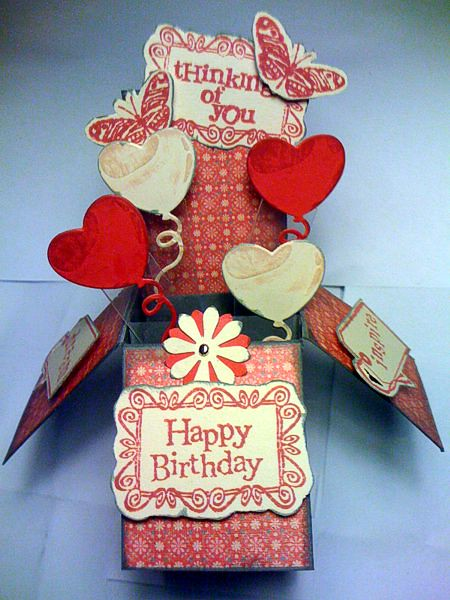 card in box birthday