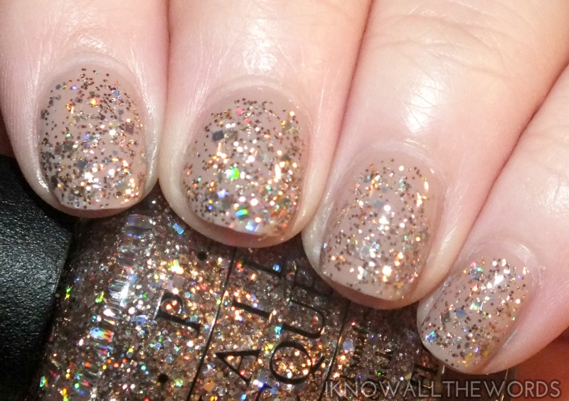 OPI Spotlight on Glitter- Rose of Light (1)