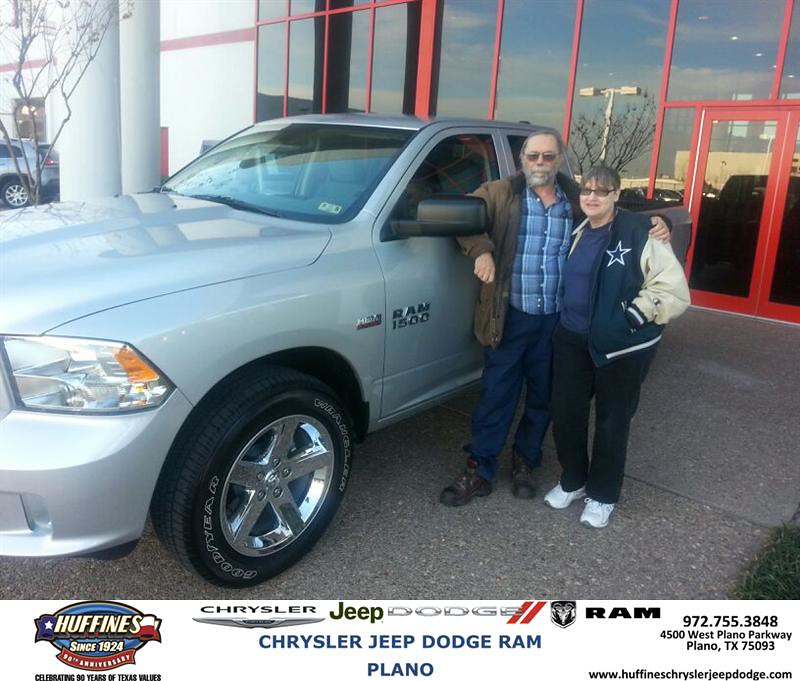 Huffines Dodge Plano >> Thank you to Ted Miedke on your new 2014 #Ram #1500 from M… | Flickr