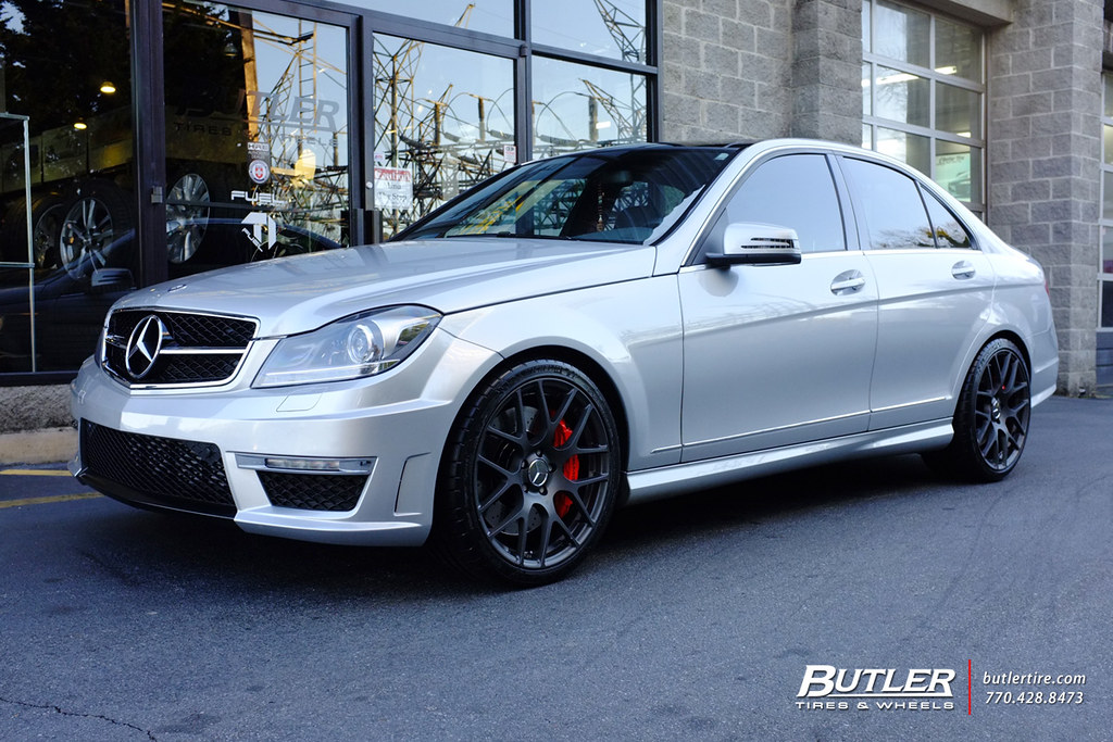 Mercedes c250 with 19in tsw nurburgring wheels for Mercedes benz tires c250