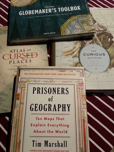 4 mapping books
