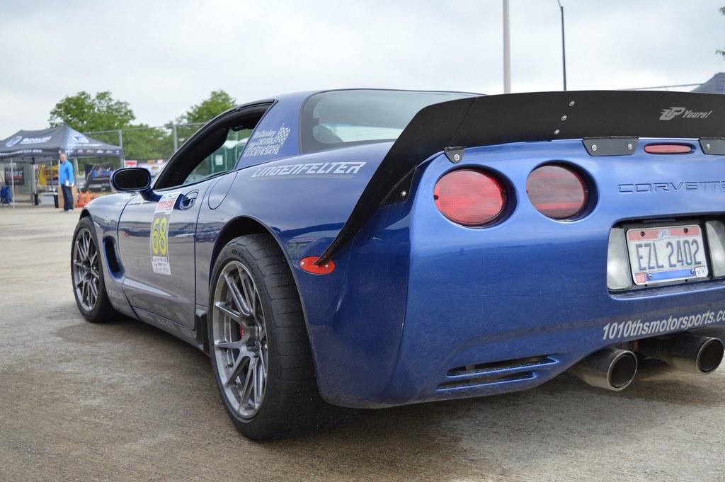 Danny Popp's C5 Corvette Z06 on Forgeline One Piece Forged ...