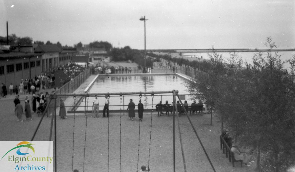 Port Stanley Swimming Pool Ca 1935 Title Port Stanley