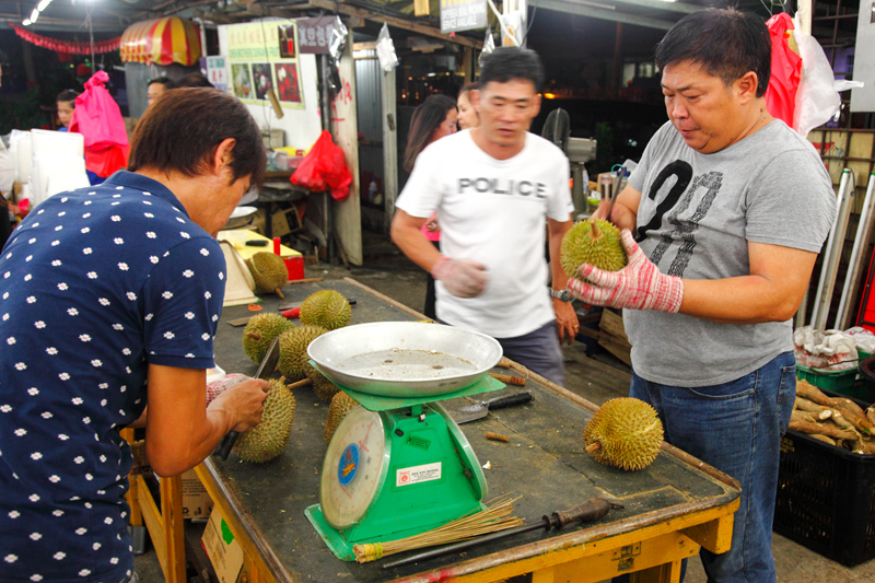 Chen Brothers Durian Stall Kepong