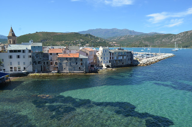 From the Citadelle, Saint Florent, Corsica