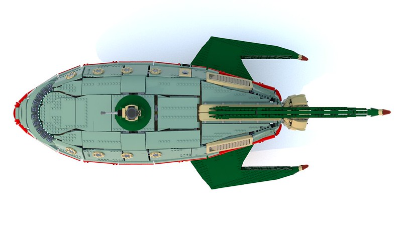 Lego UCS Planet Express Ship