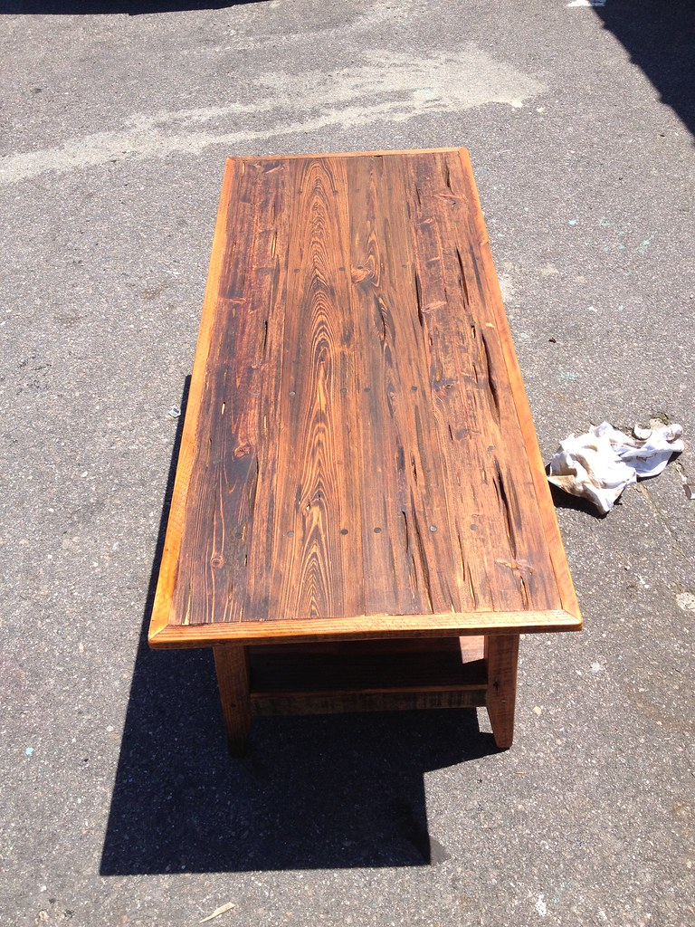 Pecky Cypress Coffee Table Landrumtables Flickr