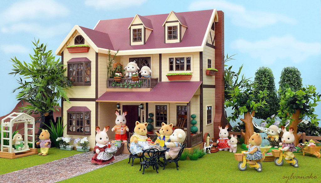 sylvanian families-Oakwood Manor | Flickr - Photo Sharing!
