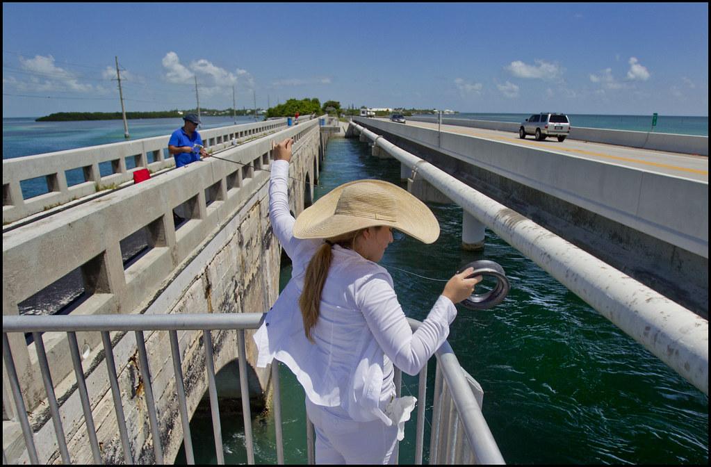Bridge fishing in the florida keys patrick farrell for vi for Florida keys bridge fishing