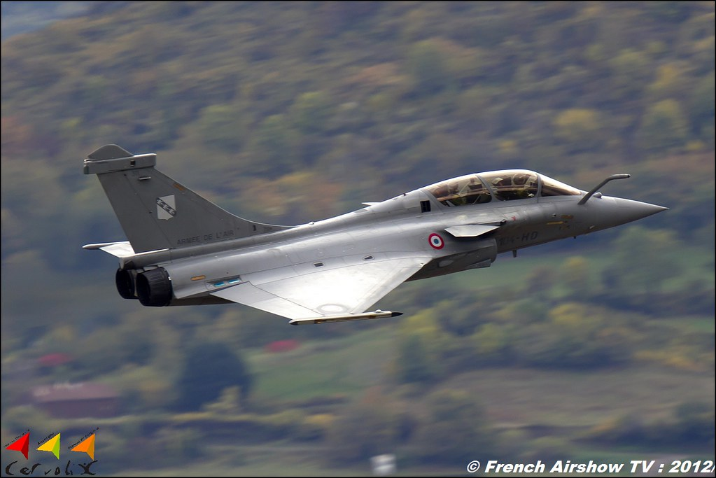 Rafale Solo Display Cervolix Plateau de Gergovie Auvergne Comment faire photos de Meeting Aerien 2012