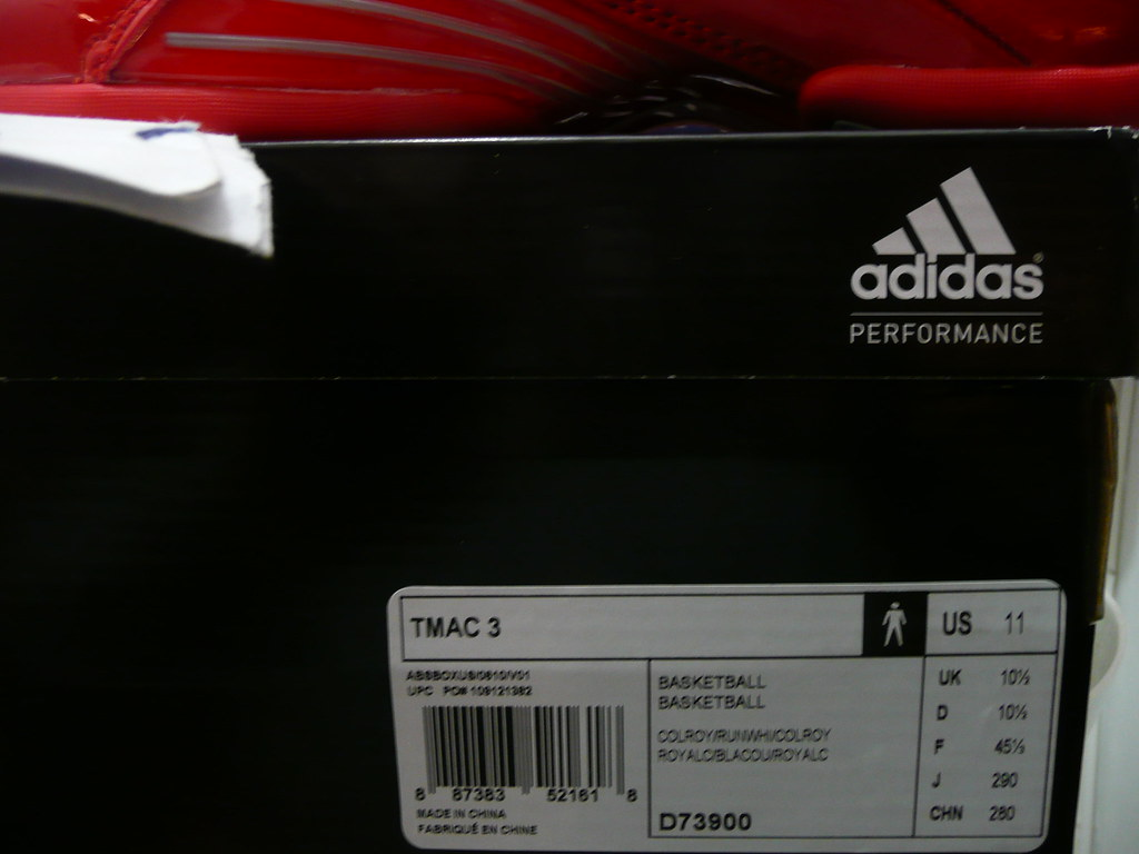 cd3aeb7f442 Autographed PACKER SHOES x ADIDAS TMAC 3