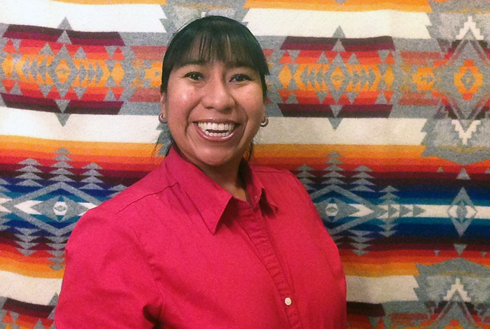 Phoebe Suina of High Water Mark, LLC, was a Native American VAF winner in 2015.