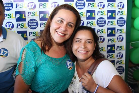 Lançamento da pré-candidatura de Silvania em Monte Santo