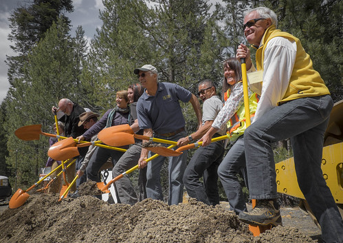 Members of the Highway 89 Stewardship Team