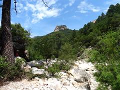 Punta Piscia depuis l'Osu le long de la piste RD
