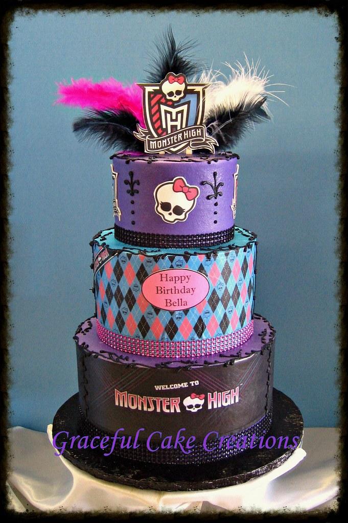 Monster High Cake Decorations Uk