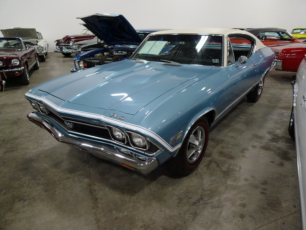 New Chevelle Ss >> 1968 Chevrolet Chevelle SS 396 coupe in Grotto blue | Flickr