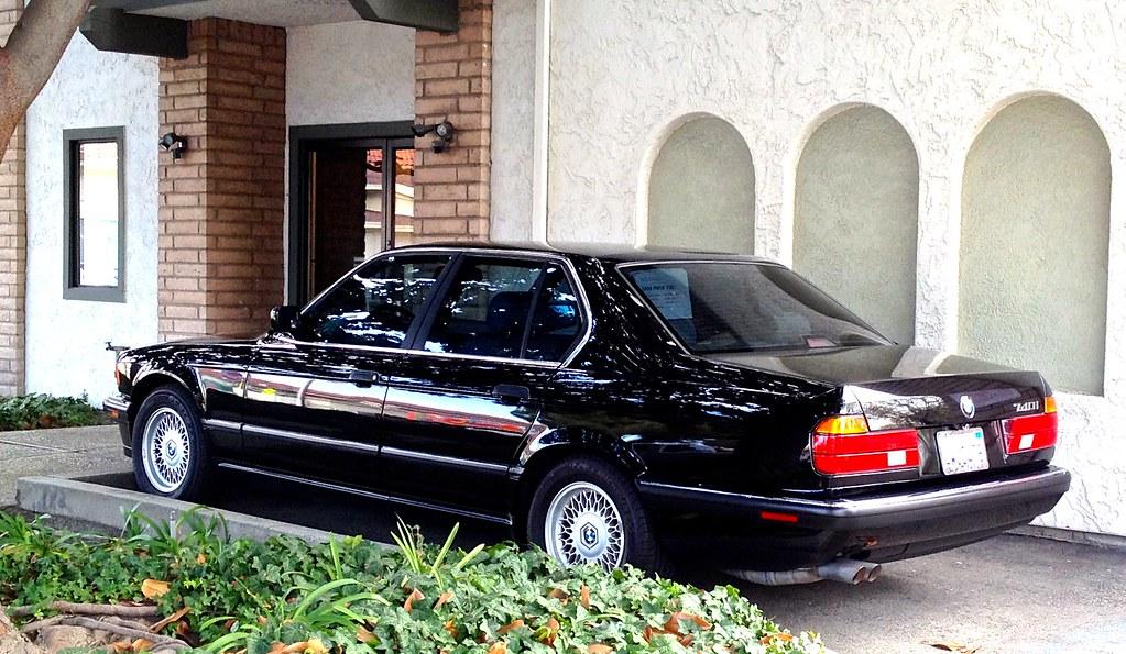 1994 Bmw 740i E32 At The Santa Clara Ca Office Bmw740i