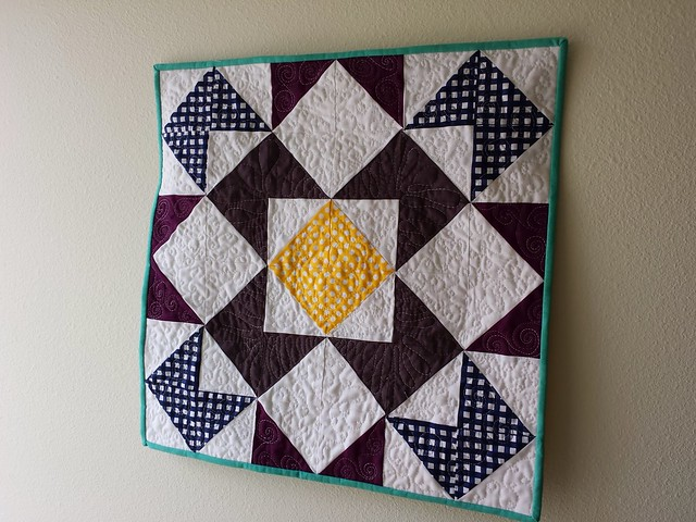 Fiber of All Sorts - Modern Quilt Guild Riley Blake Challenge finish