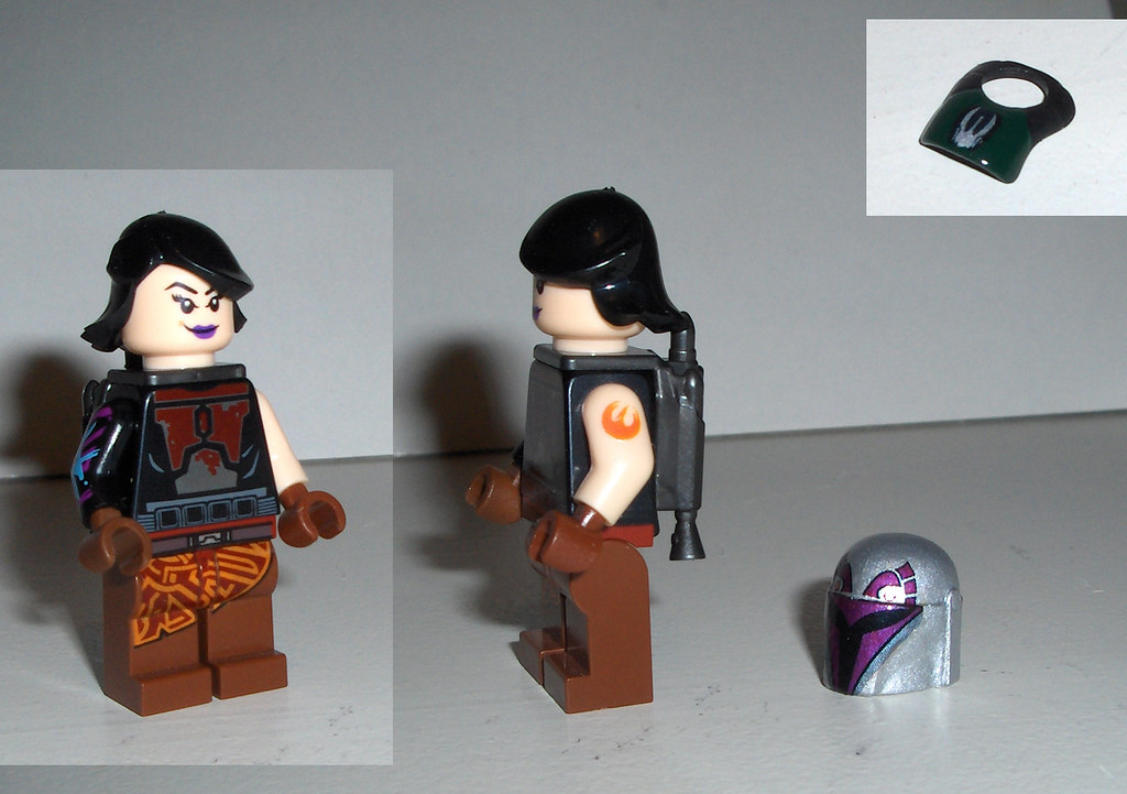 Lego Custom Sabine from Star Wars Rebels | I also made a ...