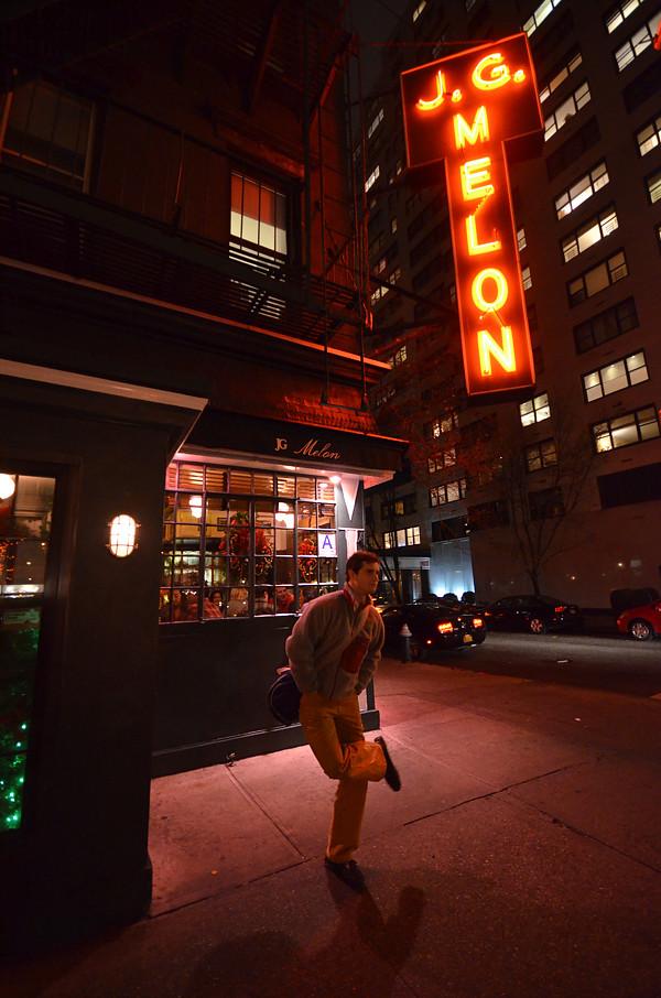 Hamburguesería JG Melon, probablemente uno de los mejores sitios donde comer en Nueva York