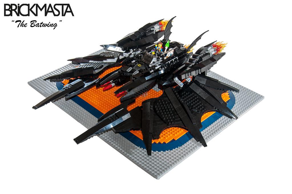 Lego Movie Batwing Moc Lani Mercado Movies