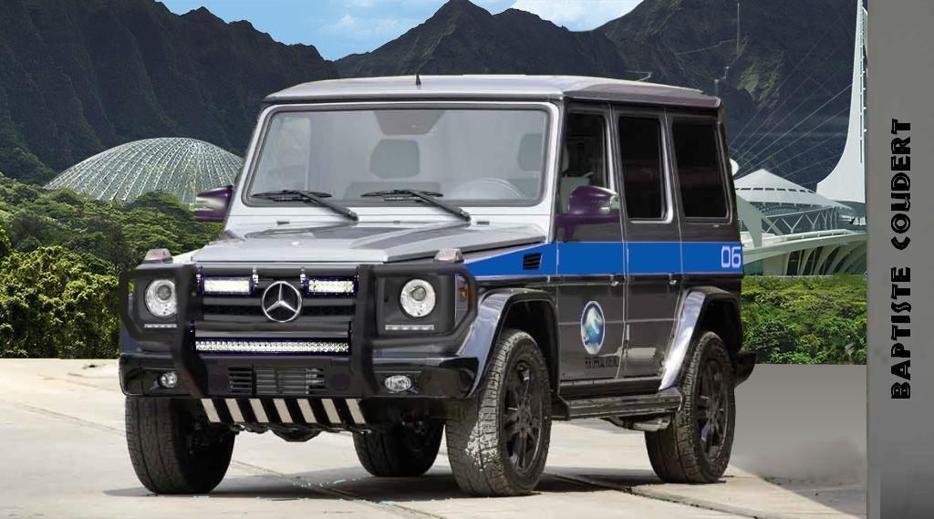Jurassic World 2015 (Jurassic Park 4) Mercedes-Benz G Clas ...