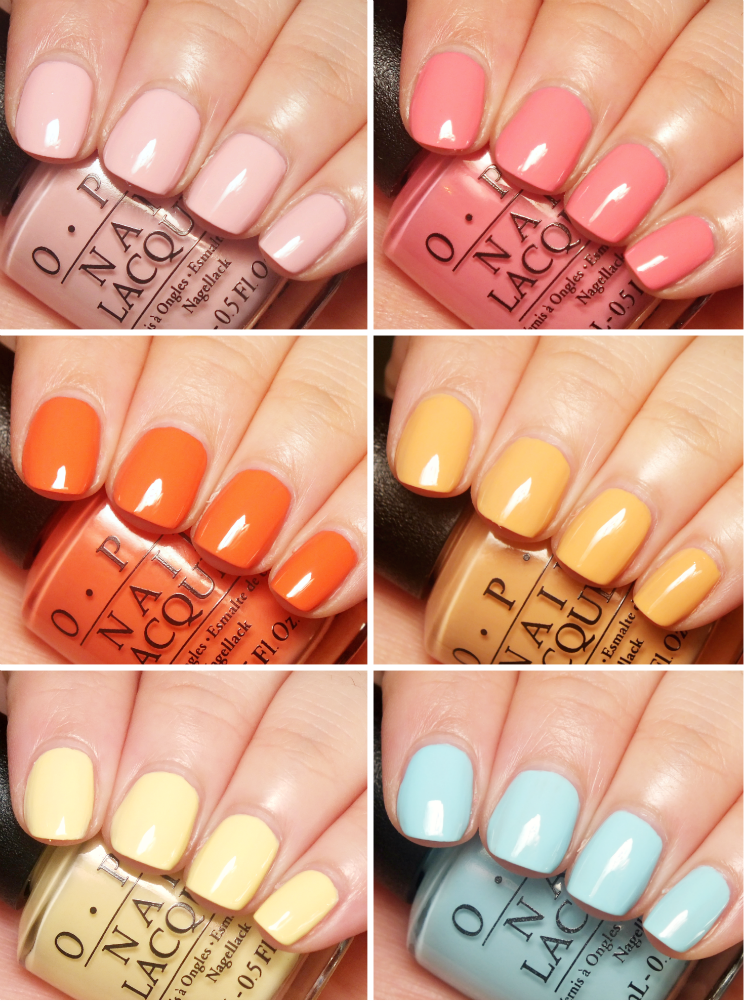 OPI Retro Summer Collection Summer 2016 (2)