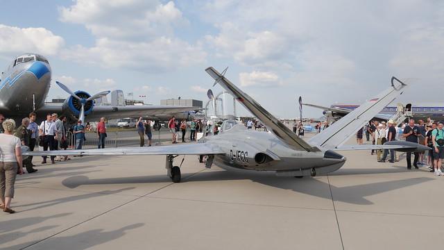 Zum Start: Fouga CM 170 Magister