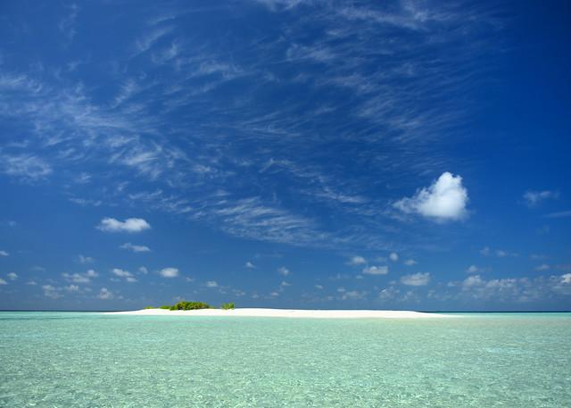 Nuestra excursión a una desierta de Maldivas
