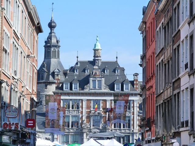 Plaza de Armas en Namur (Valonia, Bélgica)