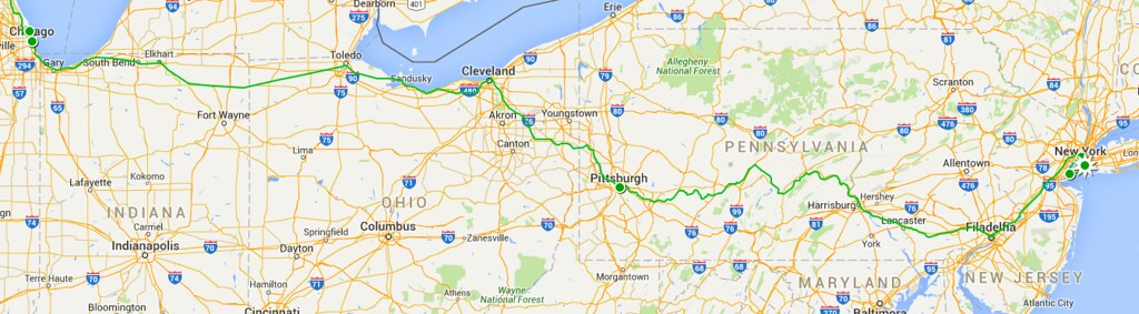 Etapa 1 - NYC to Chicago
