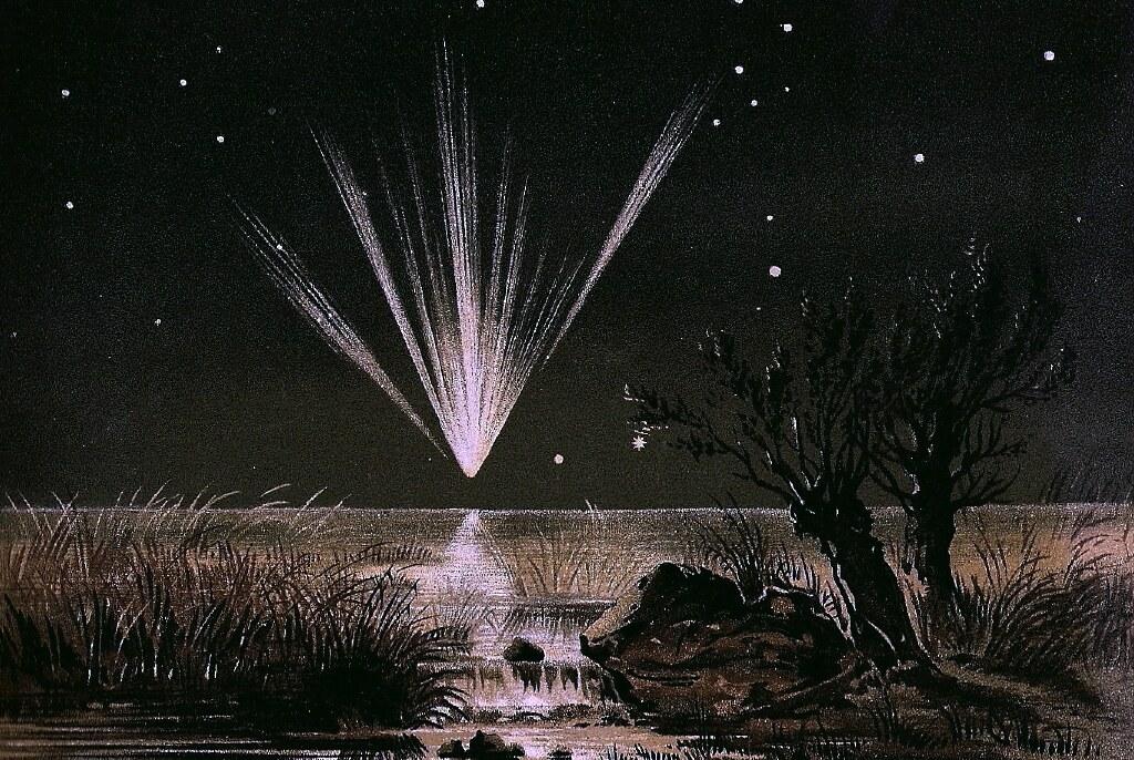 Civil War Comet - The Great Comet of 1861