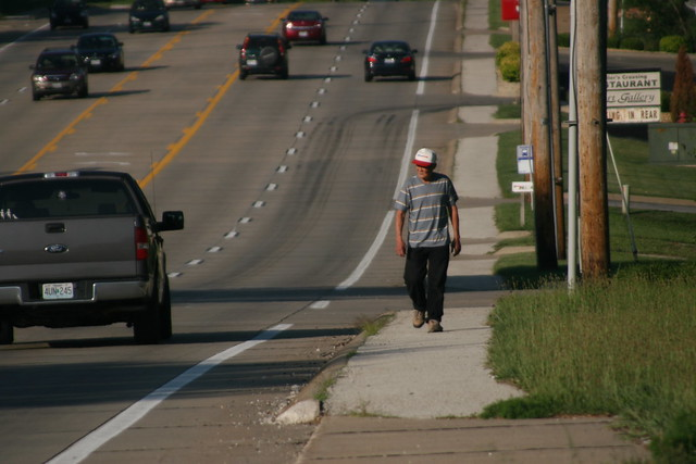 Pedestrian On Olive In Chesterfield There 39 S Still A Demand Flickr Photo Sharing