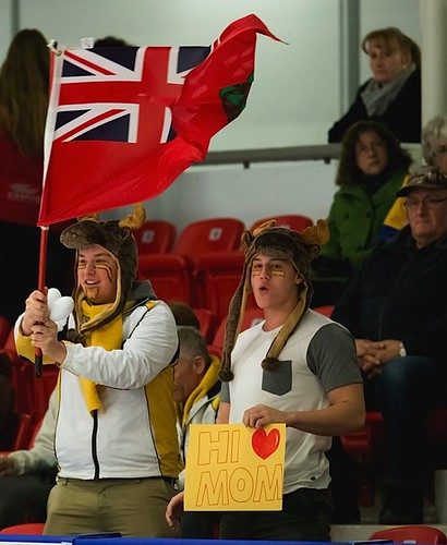 Manitoba fans at the men's final. | by seasonofchampions