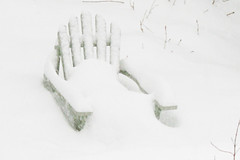 chair with snow 004