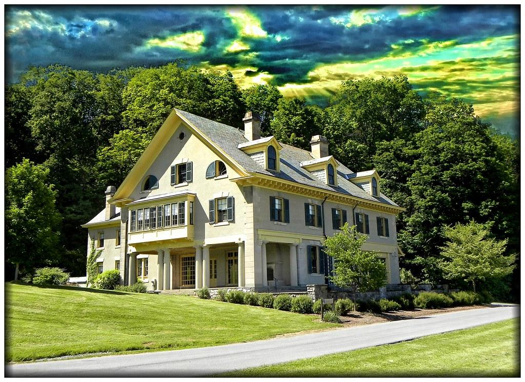 Hamilton College Clinton Ny Rogers Estate Mansion Hi