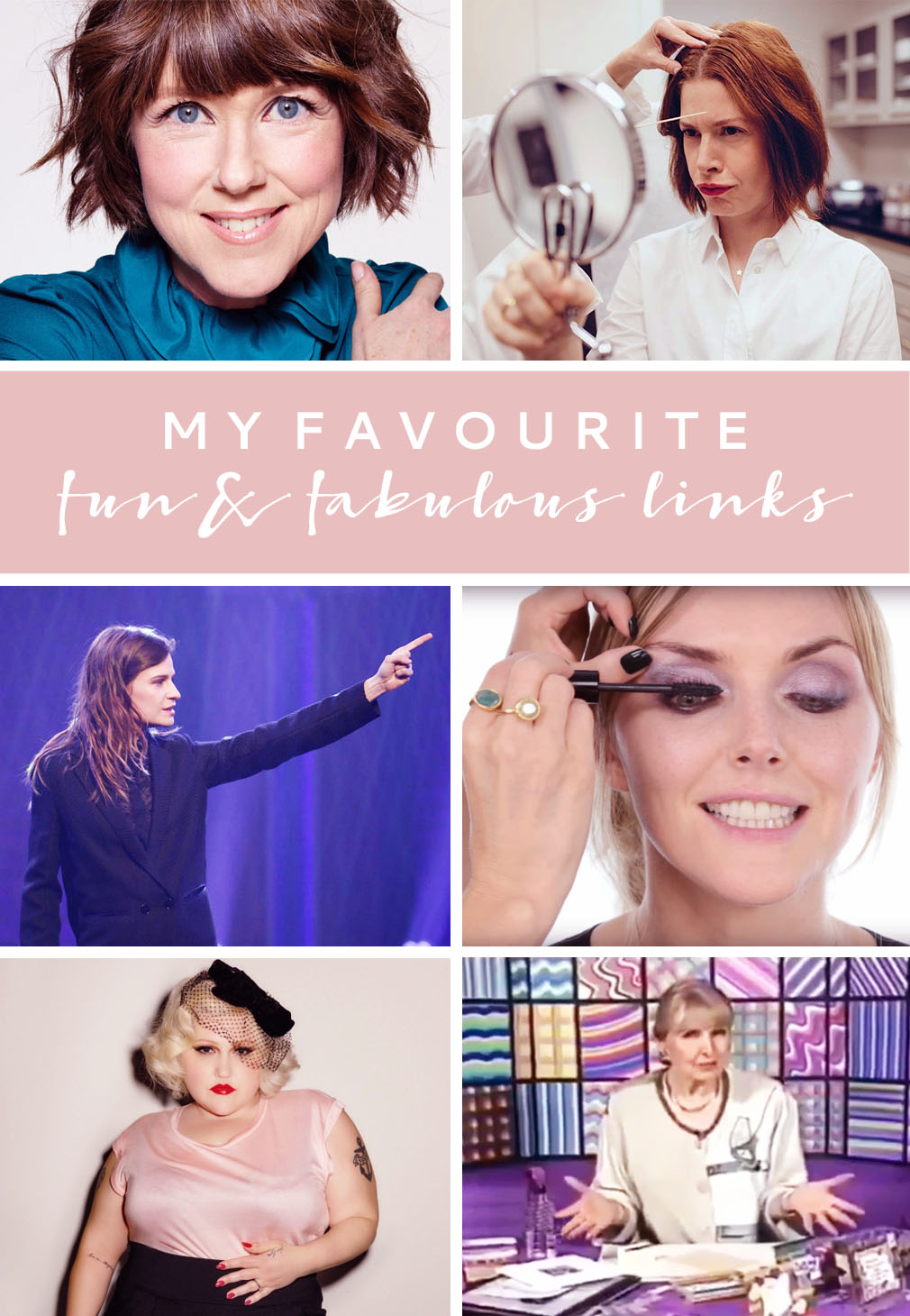 My Favourite Fun & Fabulous Links June 2016 | Not Dressed As Lamb
