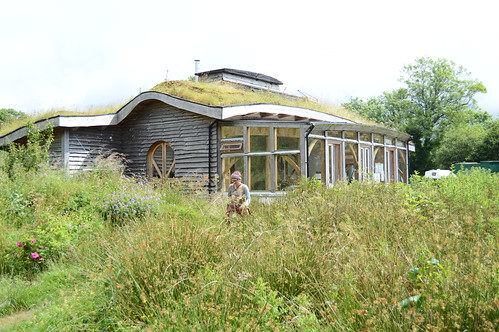 Lammas Ecovillage - a green building is the community hub