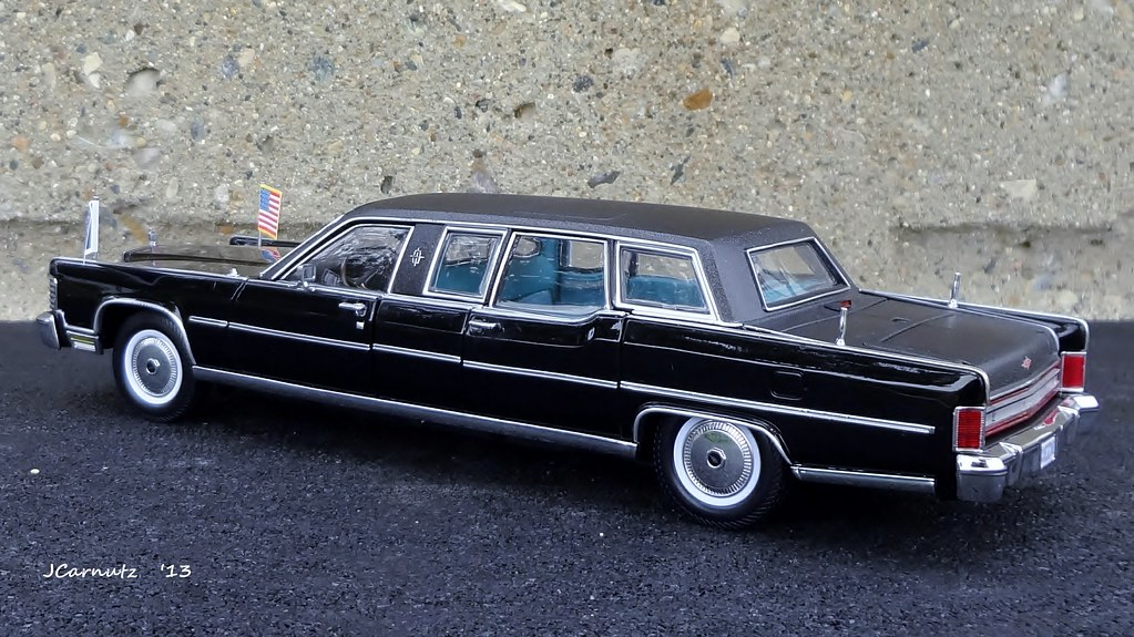 1972 Lincoln Continental Limousine Sedan Issued By Yat