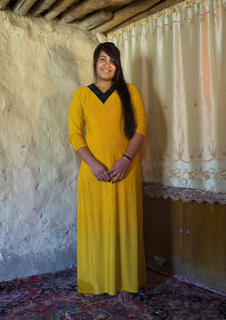Young Kurdish Woman, Azaban, Kurdistan, Iraq | © Eric ...