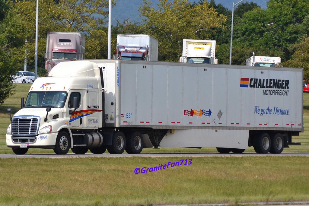 challenger motor freight freightliner cascadia trucks