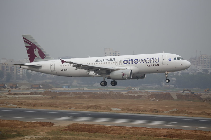 Qatar Airways One World A320