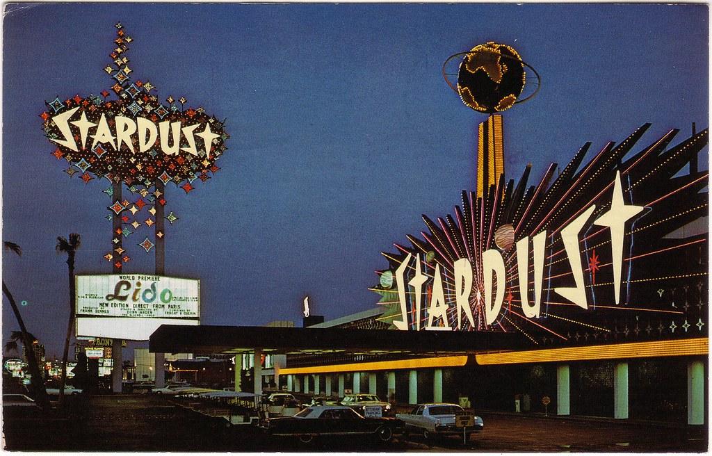 RETRO LAS VEGAS: 1960s Stardust Hotel Postcard | The ...